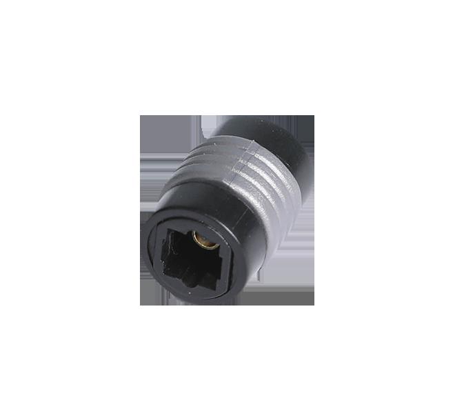 1 . FT-2050 光纤音频线转换头 光纤方口延长接头 光纤母对母直通转接头